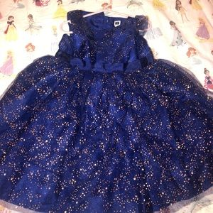 Janie & jack special occasions Navy & Rose gold